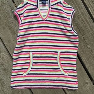 Limited Too Shirts & Tops - Kids striped hooded vest